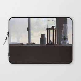 A Glimpse Back A Window Ledge Fort Stanton New Mexico Laptop Sleeve