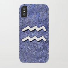 Zodiac sign : Aquarius iPhone X Slim Case