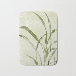 beach weeds Bath Mat