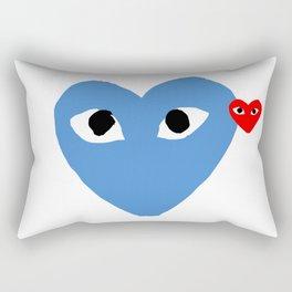 Comme Des Garcons Rectangular Pillow