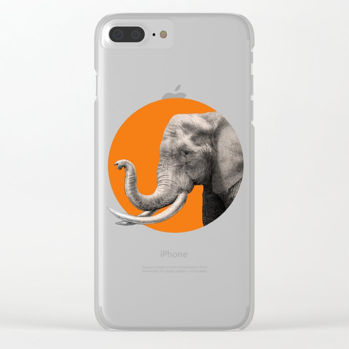 Wild 6 - by Eric Fan and Garima Dhawan Clear iPhone Case