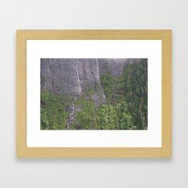 Misty Fjord National Monument #1 Framed Art Print
