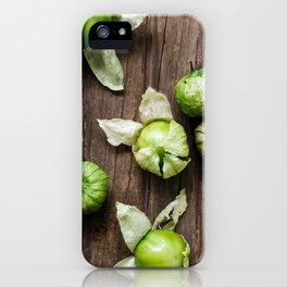 Tomatillos iPhone Case