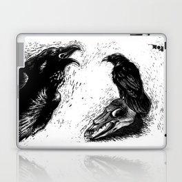 Halloween Raven Laptop & iPad Skin