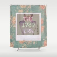 1989 Shower Curtains featuring The 1989 Era by Lucia C
