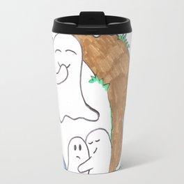 Ghost graveyard party Travel Mug