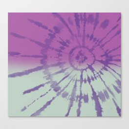 Tie Dye pattern Canvas Print