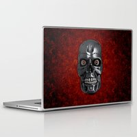 terminator Laptop & iPad Skins featuring Terminator Monochrome by Leslie Philipp