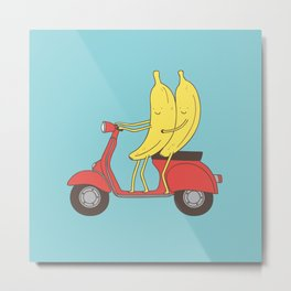go bananas! Metal Print