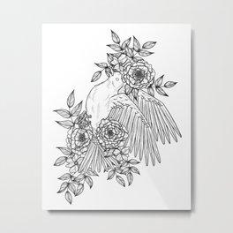 Lay Down Gently Metal Print