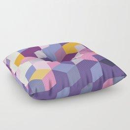 Violet Pattern Floor Pillow