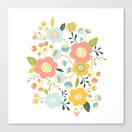 Airy GardenPillow Canvas Print