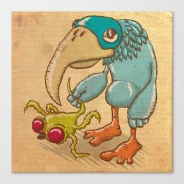 Blue Bird Canvas Print