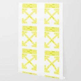 Off-White Firetape Arrows Wallpaper