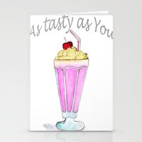 drink Stationery Cards featuring drink  by Watercolor_2011