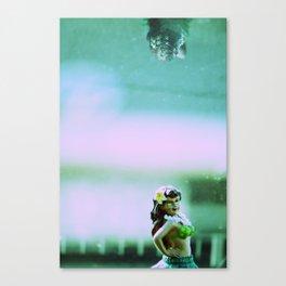 Hula Girl Canvas Print