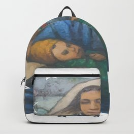 Mother and Child 2 Backpack
