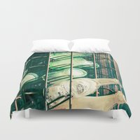 coke Duvet Covers featuring Coke or Pepsi by Page Hope - Photography