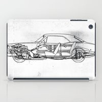 muscle iPad Cases featuring Muscle Car by Fernando Vieira