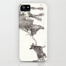 Penny vs. the Cow iPhone Case