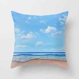 Beach Day 1 Throw Pillow