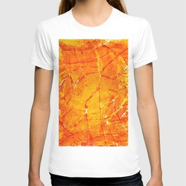 Vegetable Abstract Print T-shirt
