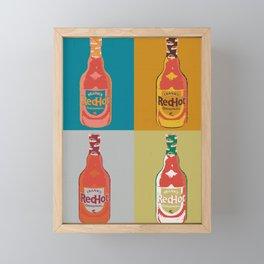 REDHOT Framed Mini Art Print