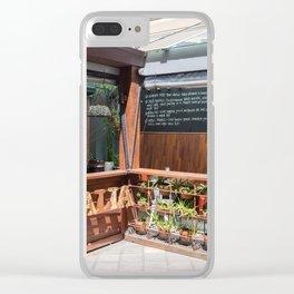 Baritalia Restaurant Clear iPhone Case