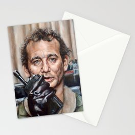 Bill Murray / Ghostbusters / Peter Venkman / Close-Up Stationery Cards