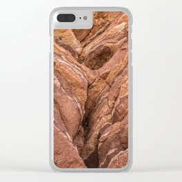 Colorado Springs Rock Formation Clear iPhone Case