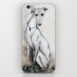 The Greyhound Wearing His Thorn iPhone Skin