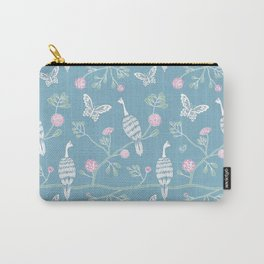 Spring Peacocks Carry-All Pouch