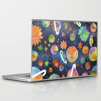 planet Laptop & iPad Skins featuring Planet by Michaella Fonseca