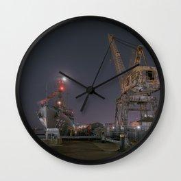 Charlestown Navy Yard Wall Clock