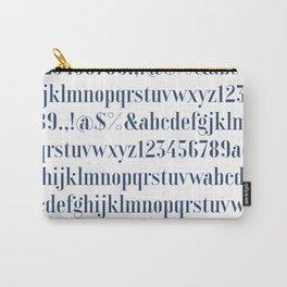 Bauhaus Joschmi Xants Font Carry-All Pouch