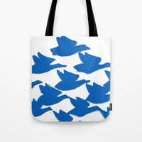 evolution Tote Bags featuring Evolution by Esther Knox