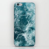 sea iPhone & iPod Skins featuring Sea by Vickn