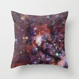 Prawn Nebula Throw Pillow