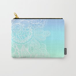 Pastel Paislies Carry-All Pouch