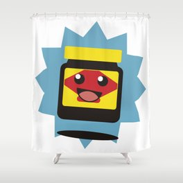 Happy Little Vegemite Shower Curtain