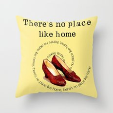 There's no place like home.... Throw Pillow