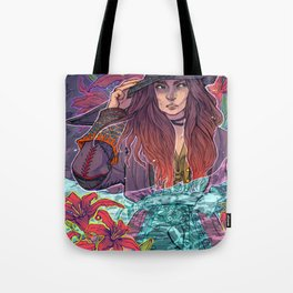 Pirate Lilies Tote Bag