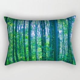 Afternoon Forest Rectangular Pillow