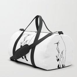 See Yourself Out   B&W Variant Duffle Bag