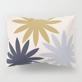 Three Flowers Pillow Sham