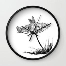Beautiful poison Wall Clock