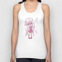 bows Tank Tops featuring Bows and Arrows by tsai-fi
