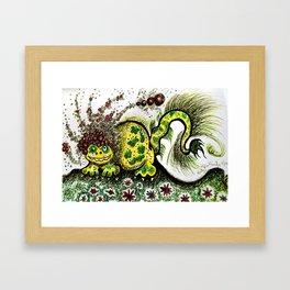 Afrosaurus Framed Art Print