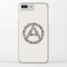 What hope may rise Clear iPhone Case