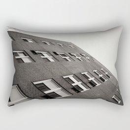 Brick Building Angle in New York City Rectangular Pillow